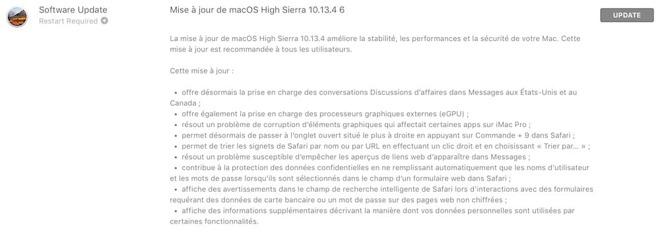 macOS 10.13.4 正式版将支持外接 GPU / iMessage 商务交流 热点资讯 第1张