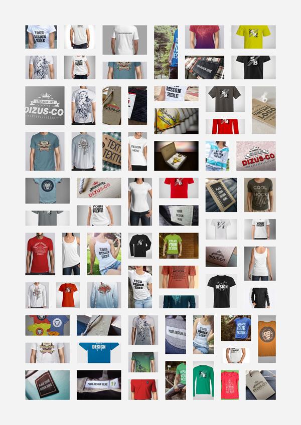 psd 177 sets of garment prototype drawings [PSD] 177套T桖衫服装样机图/智能贴图/草稿贴图 草稿贴图 样机图 服装样机图 智能贴图 VIP专享 PSD素材 PSD