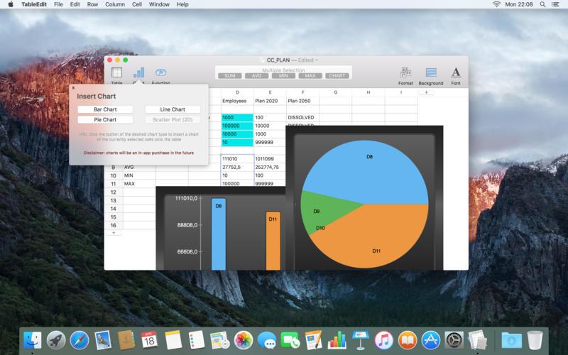 0045a08d TableEdit Pro 1.4.1   Mac下的电子表格制作神器,支持CSV导入 电子表格 TableEdit Pro MAC CSV