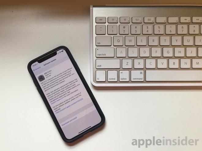1a4642ae935f2d2 iOS 11.3.1修复了此前第三方维修的换屏Bug iOS 11