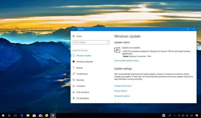 24d5f42f394048e Windows 10秋季创作者更新迎来累积更新KB4093105 Windows 10