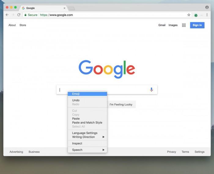 4e443958ce077a0 1 Chrome 67.0.3390.0 新功能:Emoji 表情功能 Chrome