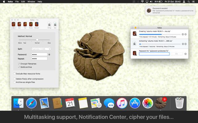 643x0w 2 Keka 1.1.3 中文版   Mac免费压缩解压 压缩解压 免费 MAC Keka