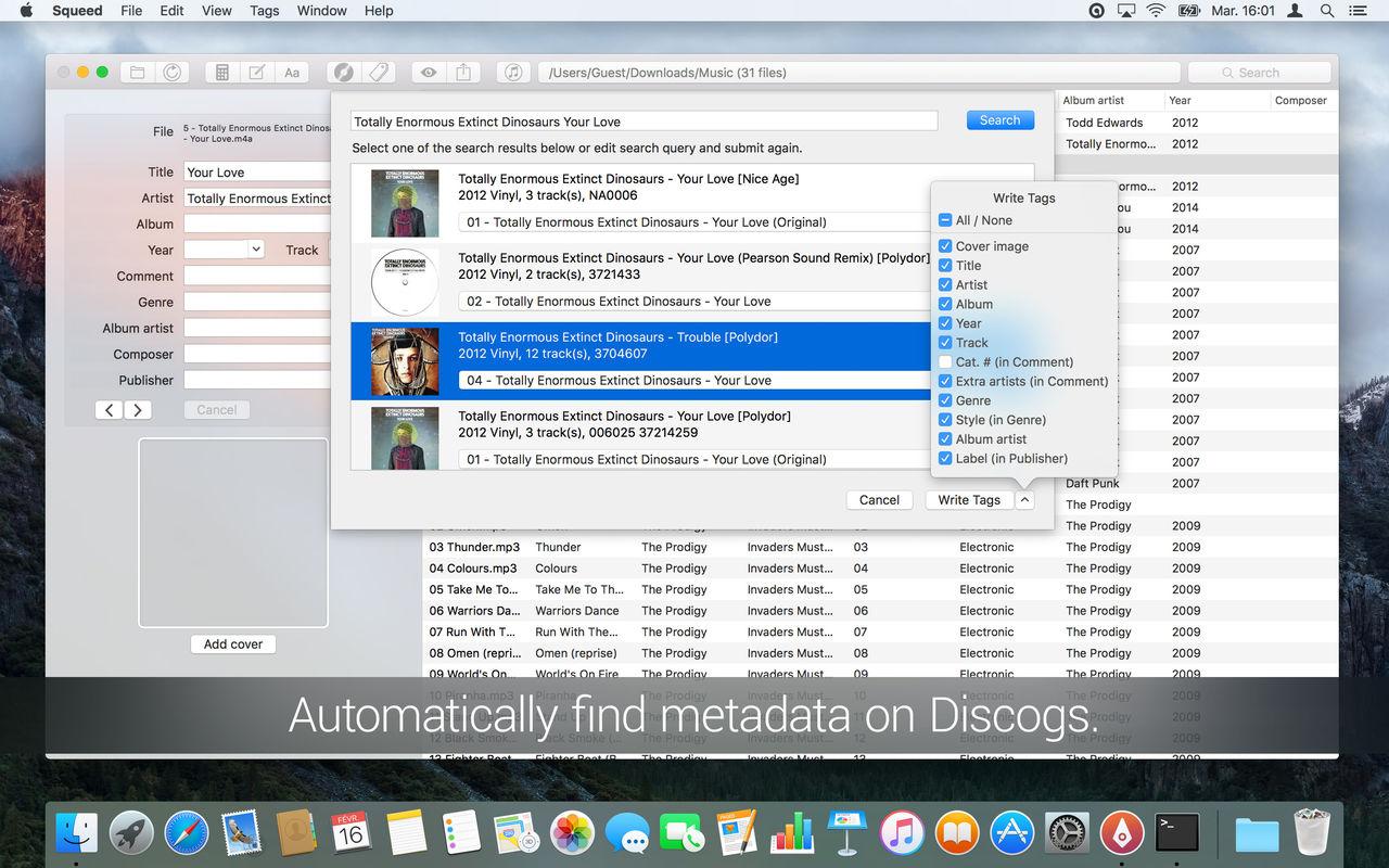 1280x0w 1 Squeed 1.13.2T   Mac编辑MP3歌曲标签工具 歌曲 标签 Squeed MP3 MAC