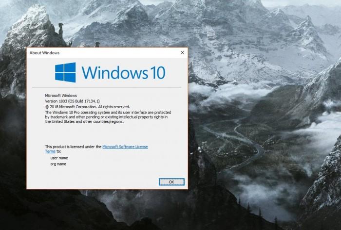 2d860963fe3f763 Windows 10 April 2018 更新失败问题,下周发布补丁修复 Windows 10