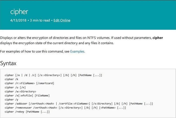 微软发布 Windows 参考命令行文档,超过250个命令 热点资讯 第1张
