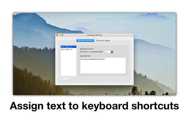 628x0w 2 [限时免费] AutoTyper   Mac设置文本内容快捷键,快速输入 限时免费 文本 Mac限时免费 MAC AutoTyper