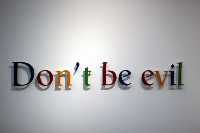 """d928356df1e5dca 谷歌更新行为准则 彻底移除""""不作恶""""口号 谷歌"""