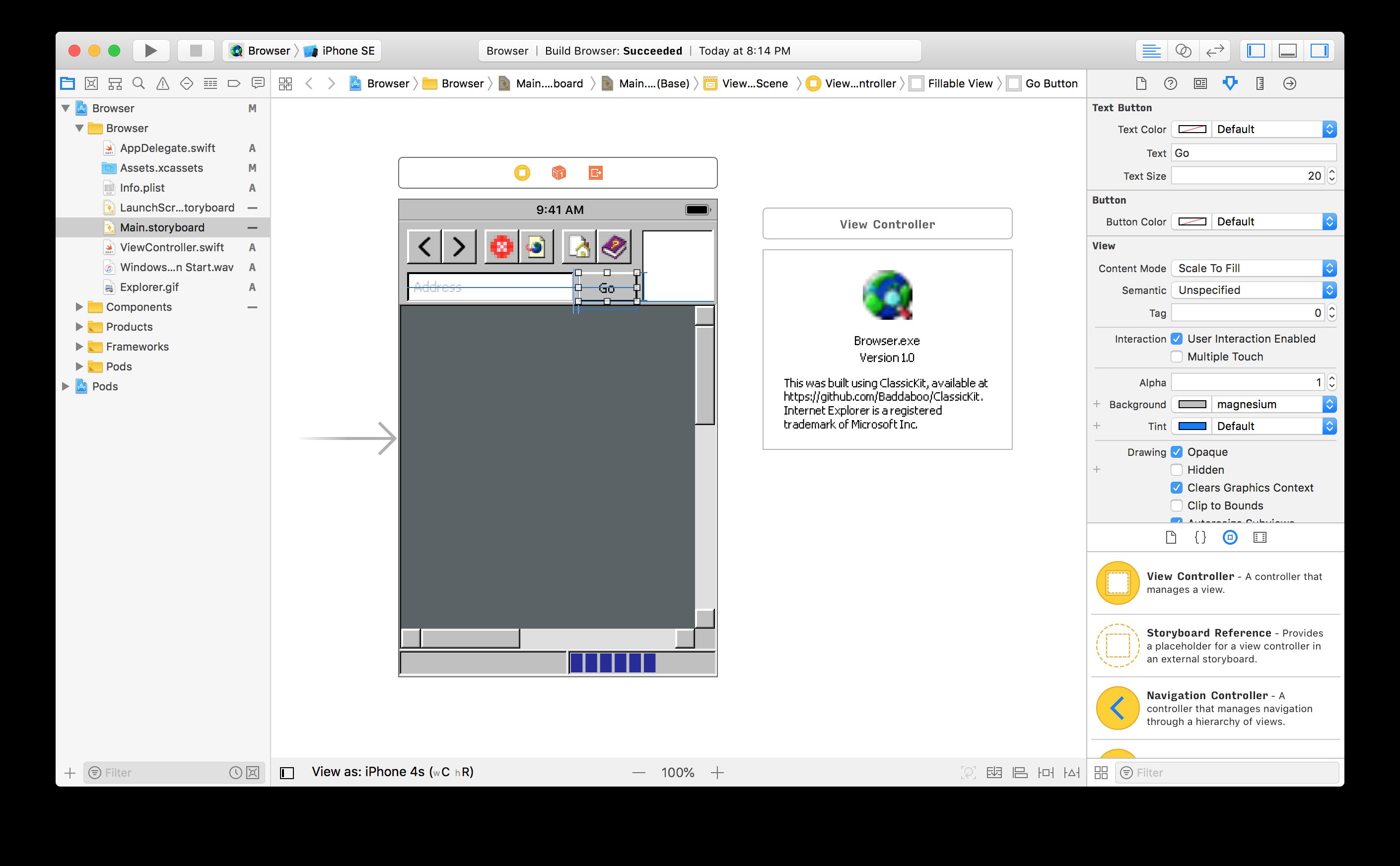xcode 在 iOS 上实现 Windows 95 的怀旧画风 iOS