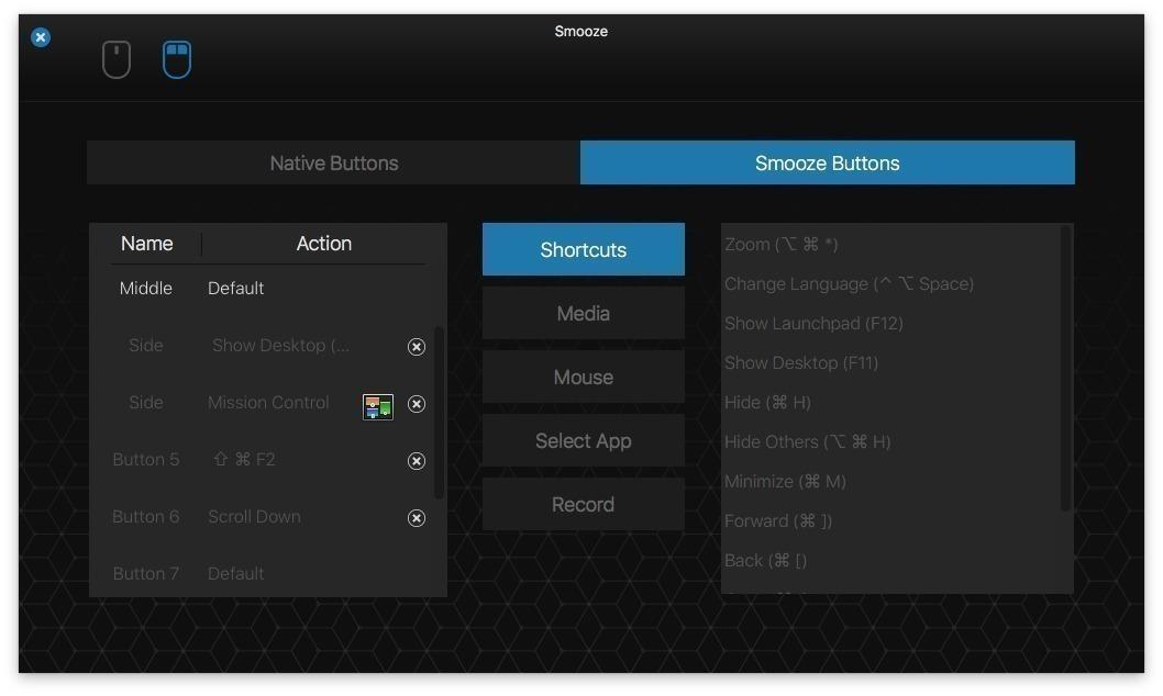 0043ecec Smooze 1.6.6   Mac鼠标滚动增强工具 鼠标 Smooze MAC