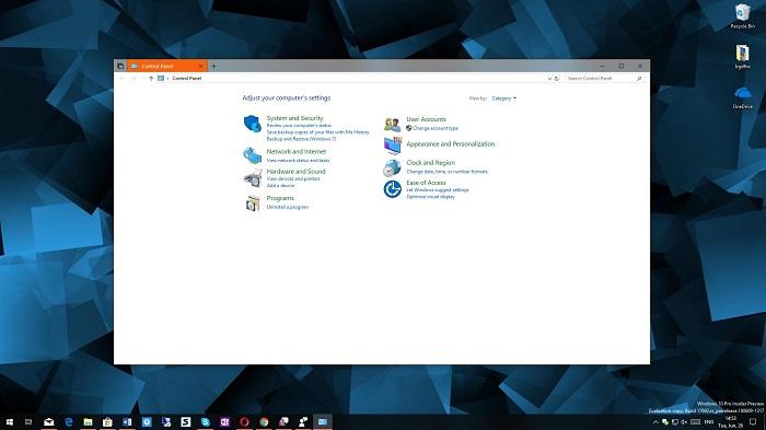 376147df0723ffc 微软为什么还保留Windows 10里的控制面板? Windows 10