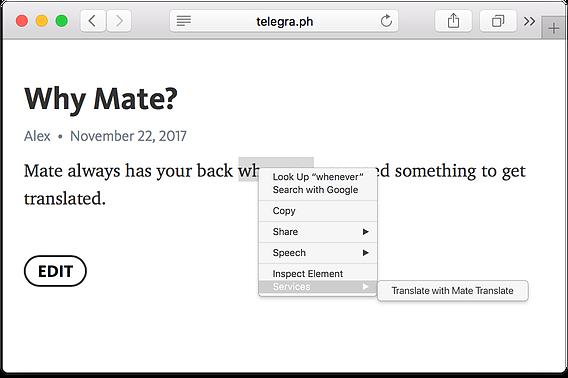 862b71 52d5945a20e54ff5812a74e09fdaf33e mv2 Mate Translate 5.0.0   Mac翻译工具,支持100种语言 翻译 Mate Translate MAC