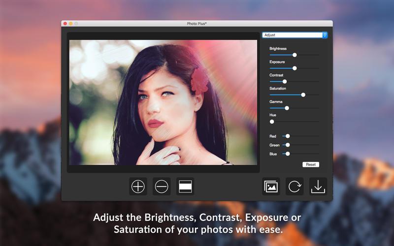 [限时免费] Photo Plus   Mac照片滤镜特效软件 限时免费 照片滤镜 Photo Plus Mac限时免费