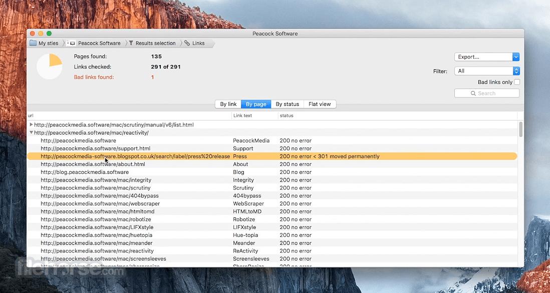 scrutiny mac screenshot 03 Scrutiny 8.1.10   Mac下站长必备的网站分析工具 网站分析 站长必备 Scrutiny MAC