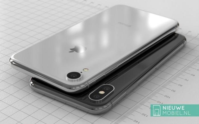 4162b0f78fdb53e 6.1英寸iPhone 9高清渲染图:放大版iPhone X iPhone 9