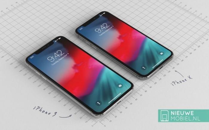 a9aa08cce96b60e 6.1英寸iPhone 9高清渲染图:放大版iPhone X iPhone 9