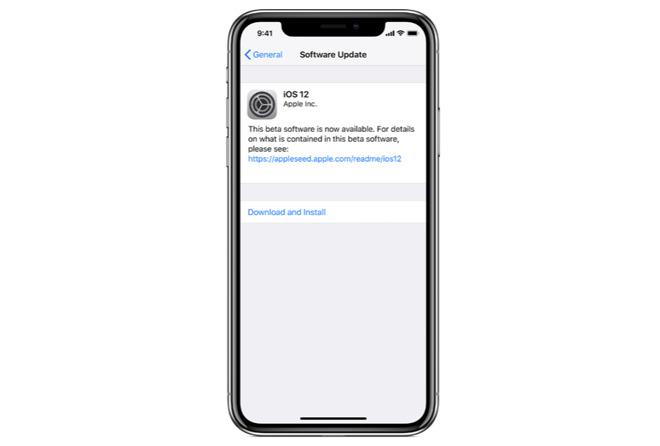 c4779763e143895 苹果发布 iOS 12 第二个公测版系统更新 iOS 12
