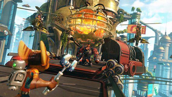 ruiqi05 570x321 [PS4]《瑞奇与叮当》中文版    令人陶醉的星际冒险 瑞奇与叮当 冒险 PS4破解游戏 PS4游戏 PS4