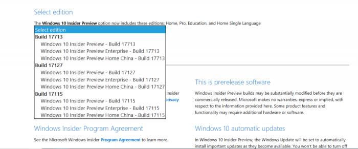 21610f7dc8d154a 微软发布 Windows 10 RedStone 5 ISO镜像下载 Windows 10