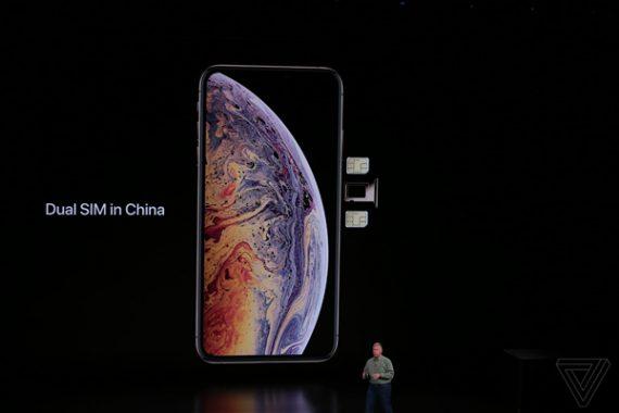 06a69ca3c1db284 570x380 苹果iPhone Xs Max支持双卡:中国独享双实体SIM卡 iPhone XS