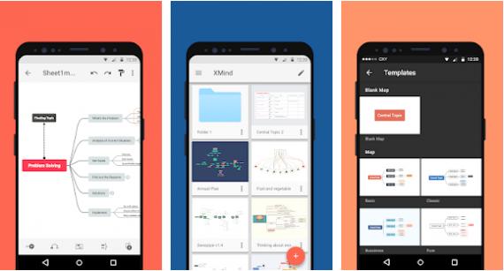 20180911150357 570x307 XMind 1.1.5 安卓版   优秀思维导图工具 思维导图 Xmind