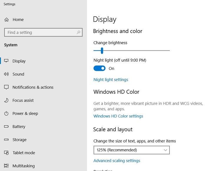 1e0e503dbeec922 微软发布补丁:修复Windows 10 1809调节屏幕亮度bug Windows 10