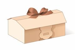 [EPS] 25套蛋糕小吃盒/礼品平面展开矢量盒子模版