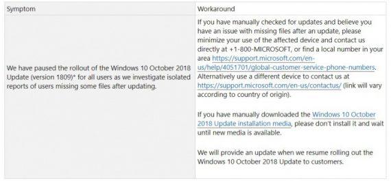2bd3868f5580735 570x265 Windows 10十月更新文件丢失,微软建议减少使用PC Windows 10