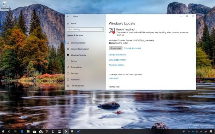 2d765bcddbefacf Windows 10 Build 18267发布:增强模式搜索索引 Windows 10