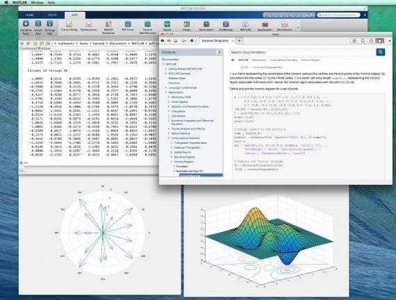 matlab 570x432 MATLAB For Mac 9.4.0.949201   商业数学软件,用于数值分析/算法开发 数学软件 MATLAB