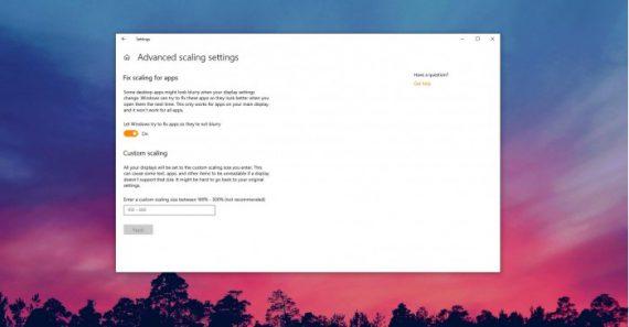 2e599ace485bfdb 570x297 Windows 10 19H1 改进DPI模式,让模糊程序变清晰 Windows 10