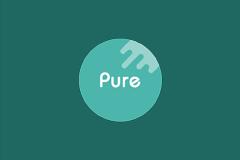 安卓图标包:Pure轻雨,一款简洁路线的图标