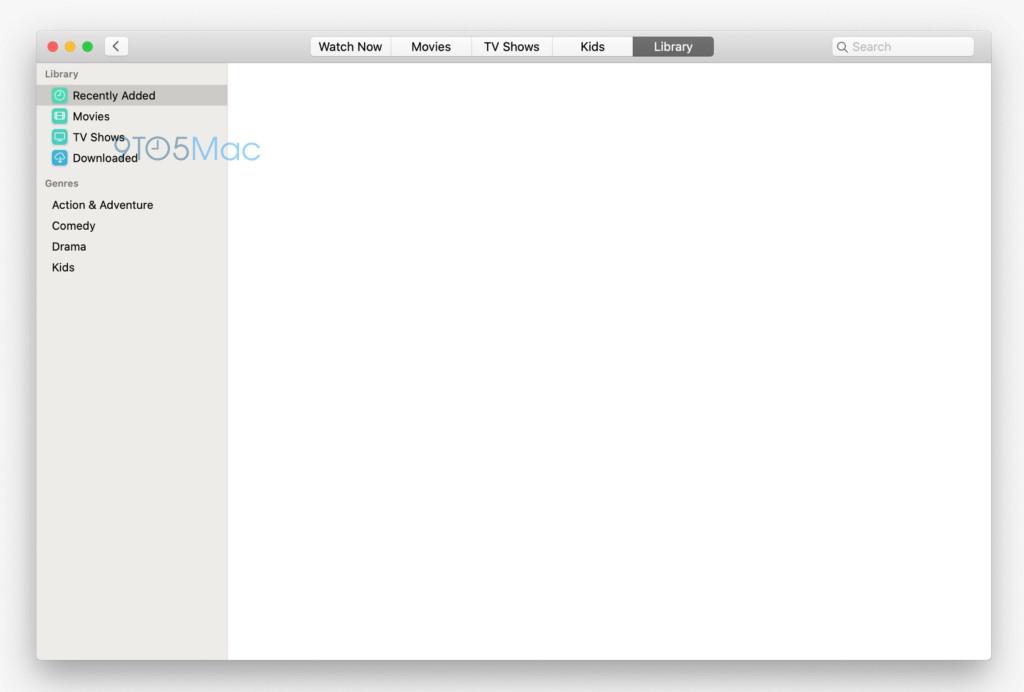 macOS 10.15 全新音乐和 TV 应用截图曝光 极致简约 热点资讯 第3张