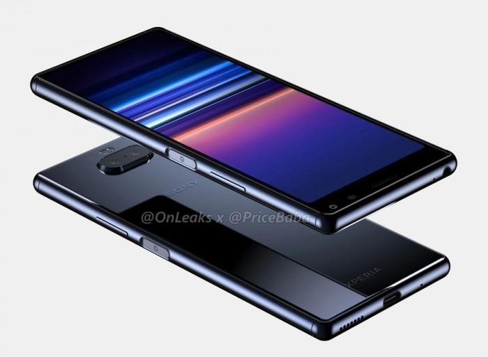 索尼Xperia 20渲染图抢先看:电源键整合指纹解锁 热点资讯 第3张