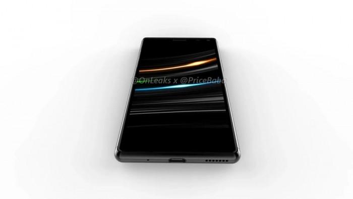 索尼Xperia 20渲染图抢先看:电源键整合指纹解锁 热点资讯 第6张