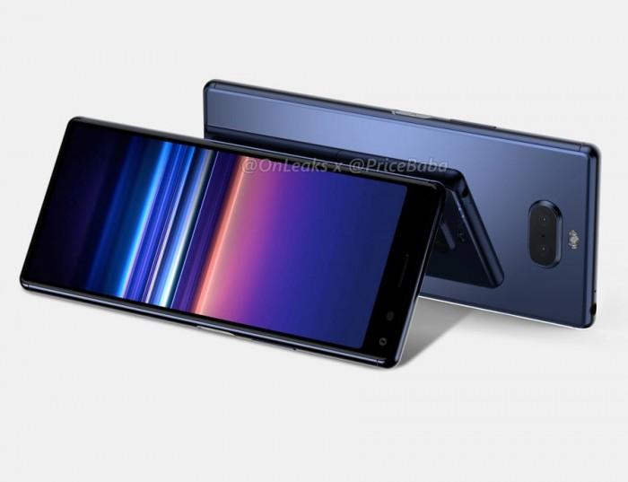 索尼Xperia 20渲染图抢先看:电源键整合指纹解锁 热点资讯 第4张
