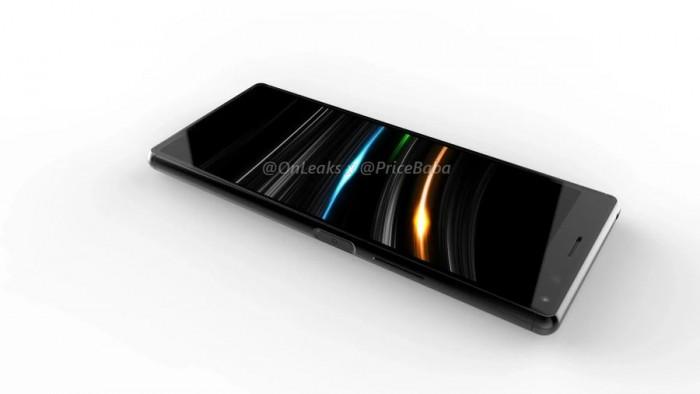 索尼Xperia 20渲染图抢先看:电源键整合指纹解锁 热点资讯 第5张