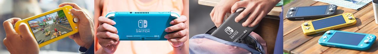 任天堂:Switch Lite是今年发售的唯一新Switch机型 热点资讯 第2张