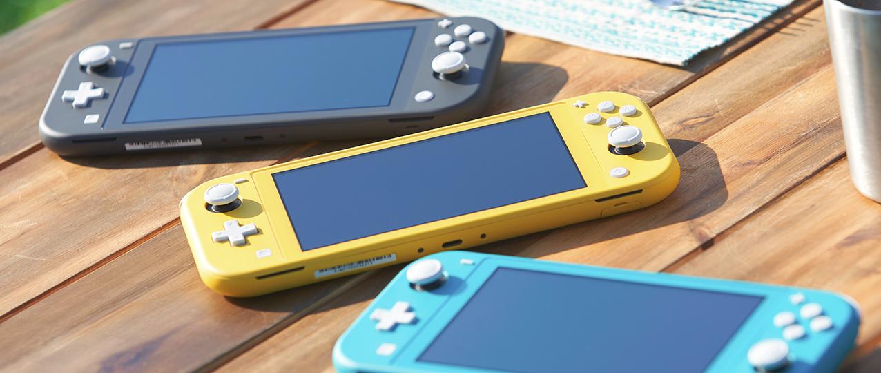 任天堂:Switch Lite是今年发售的唯一新Switch机型 热点资讯 第4张