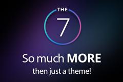 多用途超强WordPress主题The7 v7.7.1中文破解版