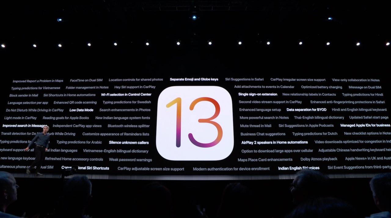 苹果iOS 13正式版将于9月20日推送 热点资讯 第1张